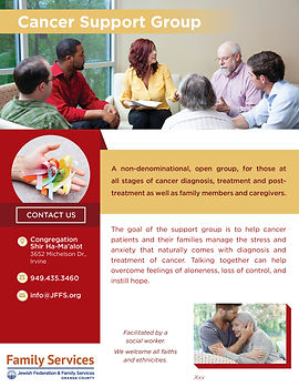 Cancer Support Group_Family Services Fly