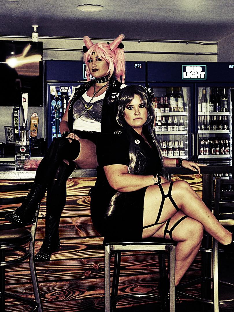 Leesie Foxx Wicked Lady Photoshoot 2018