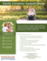 Family Caregiver Support Group_Family Se
