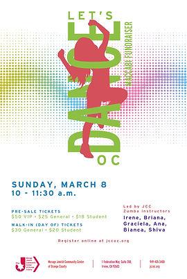 Let_s Dance OC Maccabi Fundraiser_poster