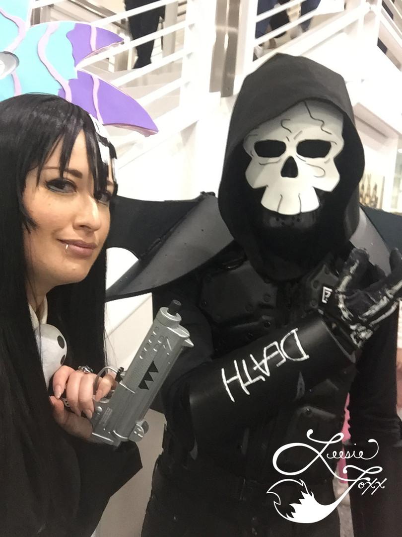Leesie Foxx Death the Kid Anime Los Angeles 2019