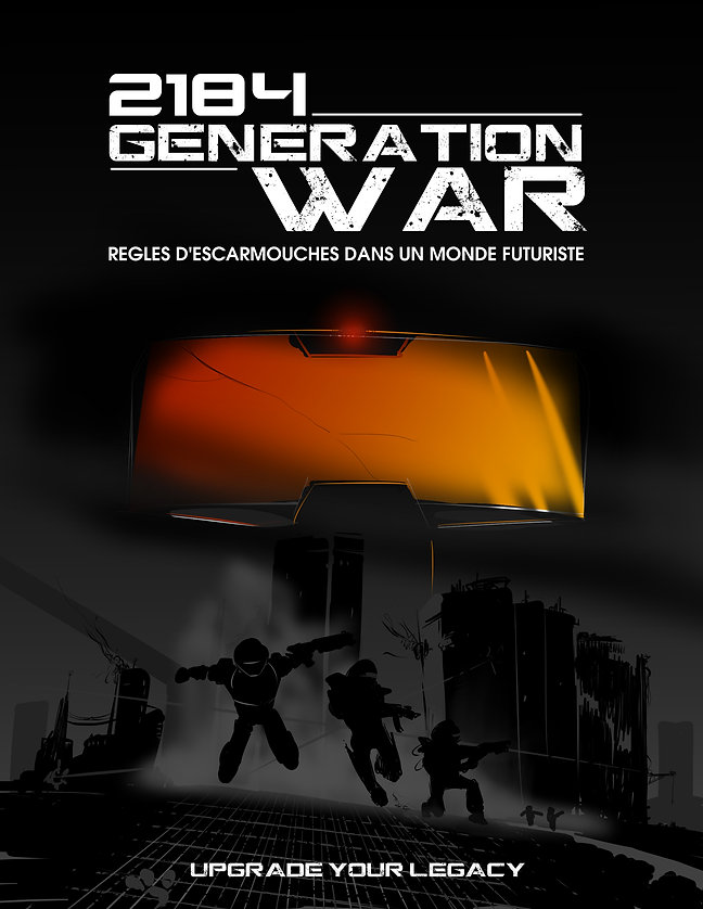 2184 génération war - jeu de figurines - jeu de societe