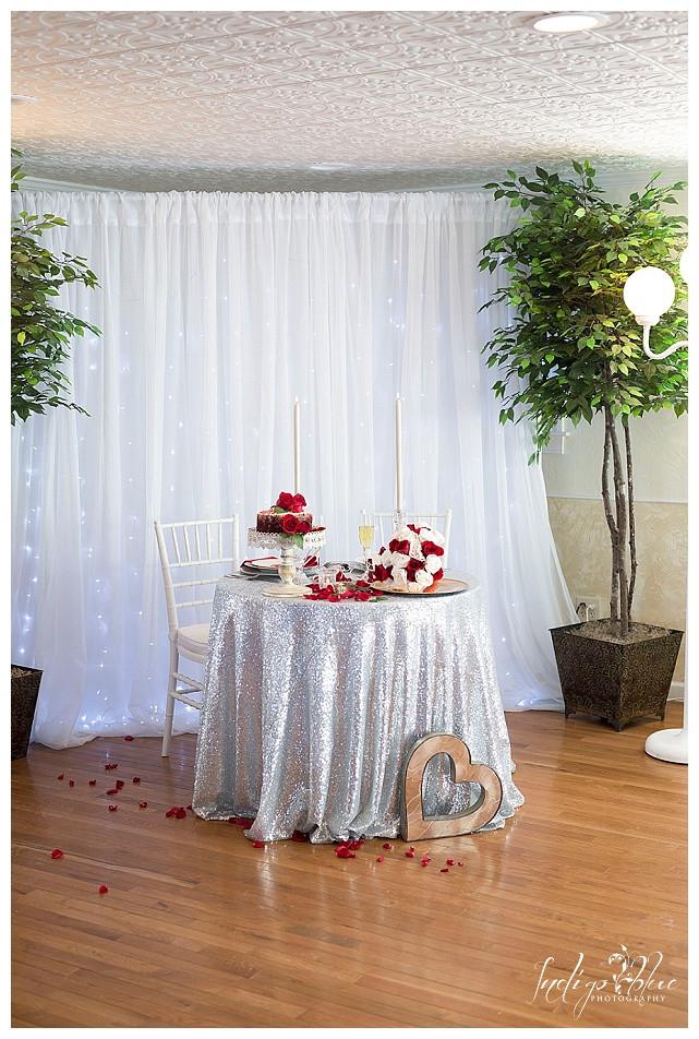 Beautiful Valentine's table