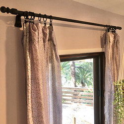 Curtain rod boule