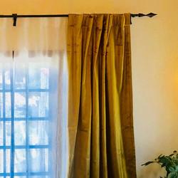 arrow curtain rod fleche