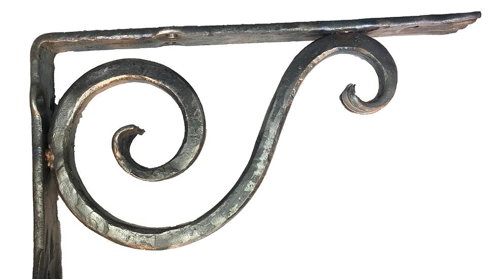 Shelf bracket wrought iron CL-3-asy