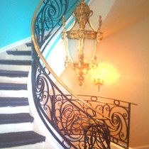 Railings for private home in Montreal