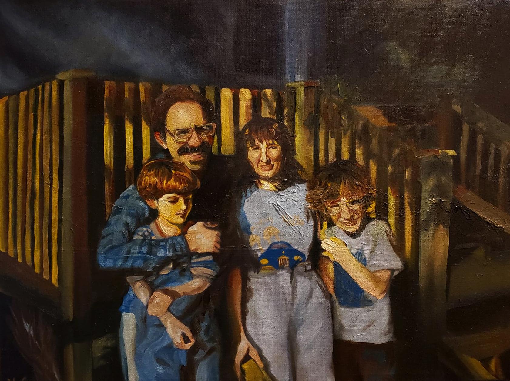 Sylvie's painting
