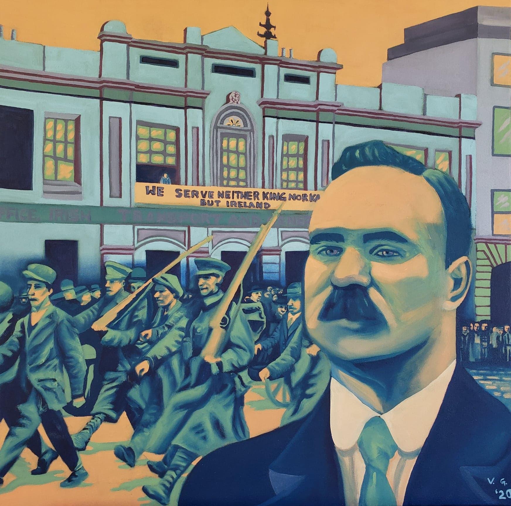 James Connolly: The Irish Uprising