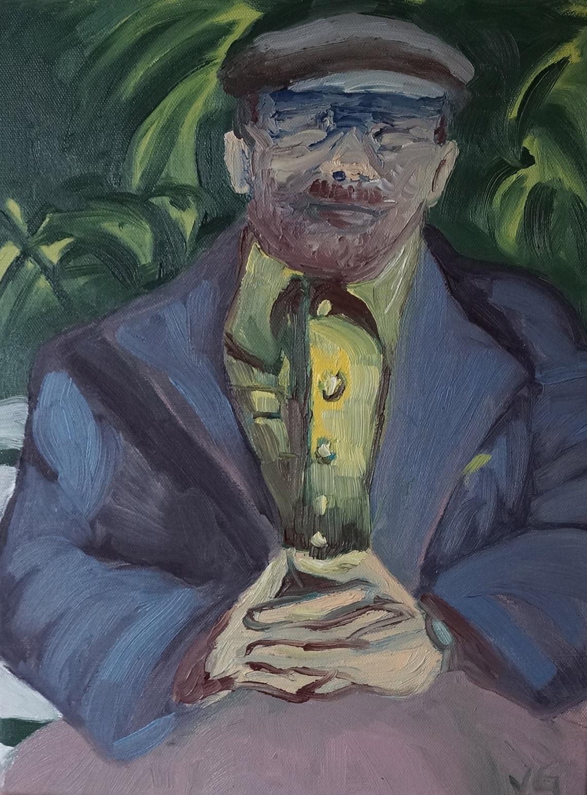 Lenin Sitting Down