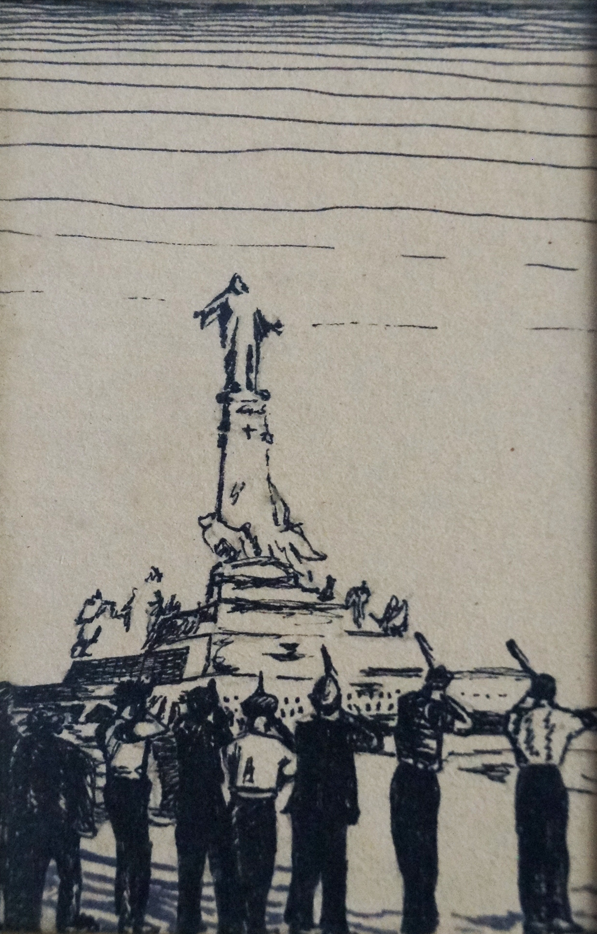 Executing Christ (Spanish Civil War)