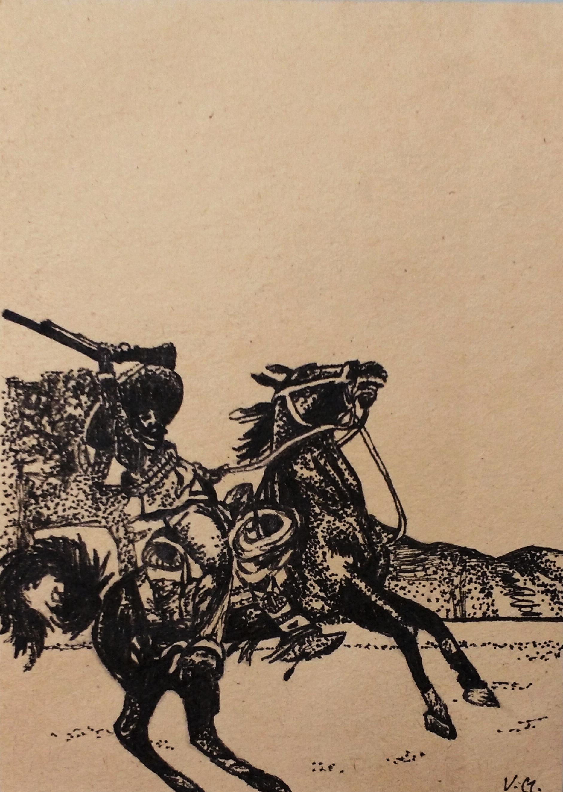 Mexican militia man