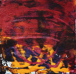 come in sandeigo 27.5x27.5cm. acrylic on canvas_2014