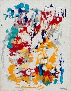(Being Left)     남겨진 흔적 116x91cm   acrylic on canvas.koreanpaper_2008