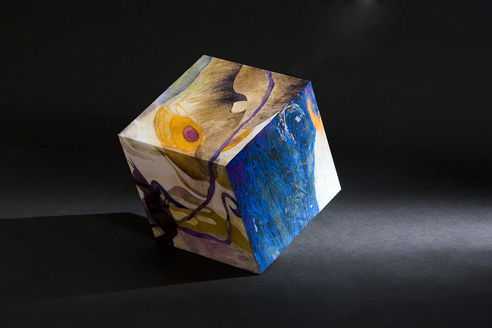 In the Square world.-creature- 30x30x30_2007