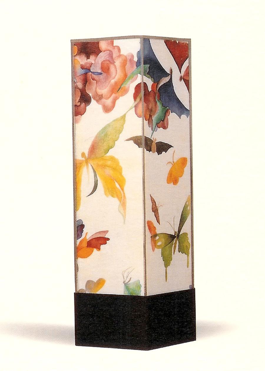 orientalism. painting on silk-2002