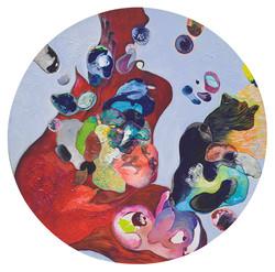 Getting together.ll가슴이 뛴다.(하나되다.) 50cm Acrylic on Canvas.2010