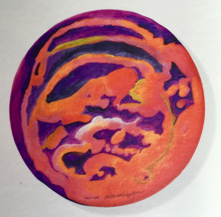 Moonlight 28cm koreanink on silk 2003 (3)