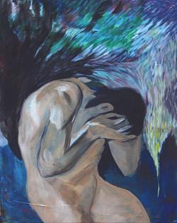 Remorse       53x 45cm.acrylic on canvas_2015