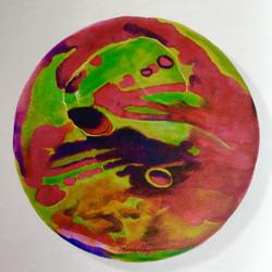 Moonlight 28cm koreanink on silk 2003 (4)