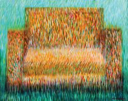 A rest         92x65  acrylic on canvas_2012