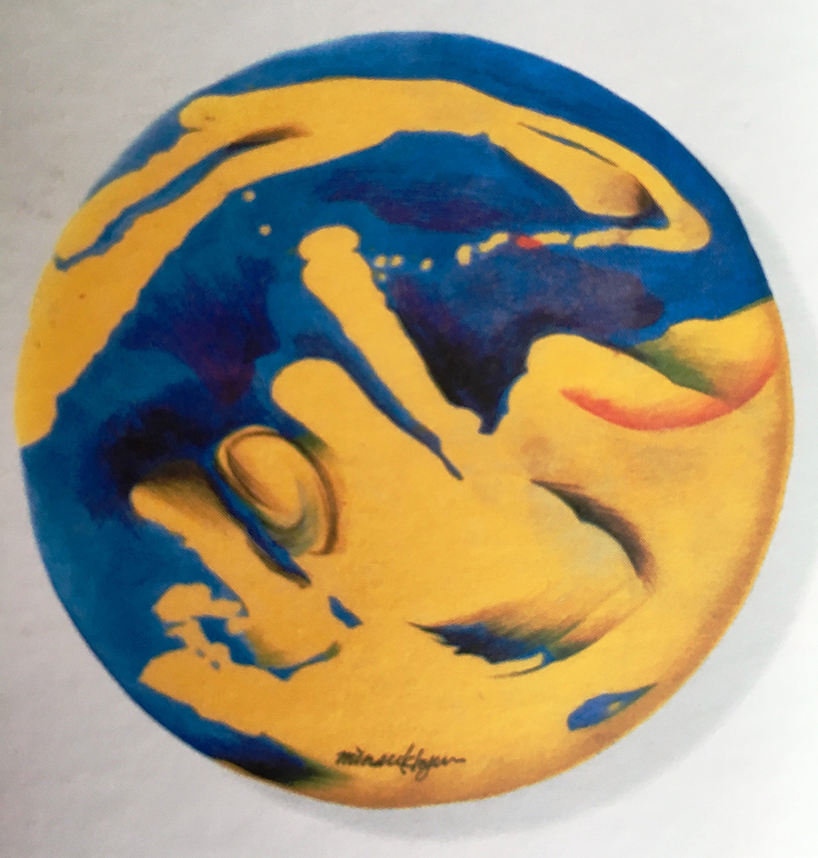 Moonlight 28cm koreanink on silk 2003 (2)