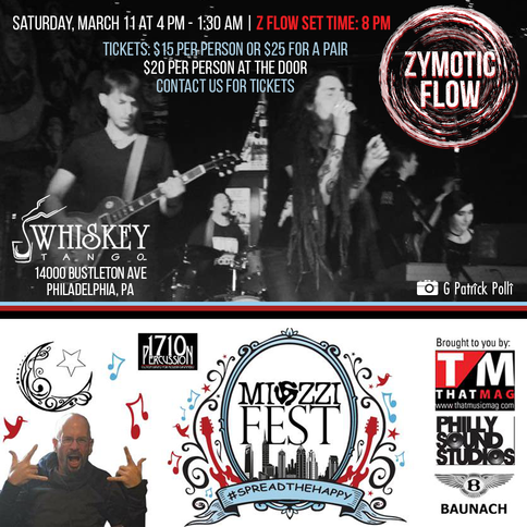 Up Next: Miozzifest, Saturday 3/11