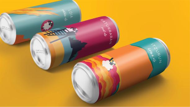 Latxa Beer | Packaging