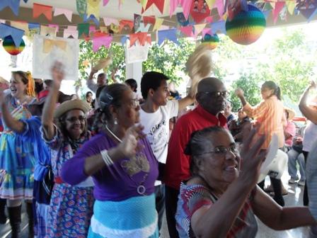 2012-Festa Junina na Residência
