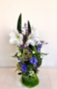 Lentebloemstuk door Natys Floral Design & Services