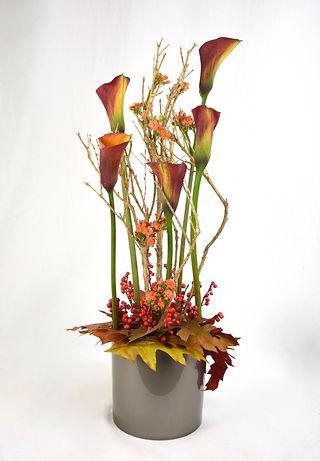 Herfstbloemstuk door Natys Floral Design & Services