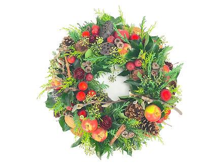 Kerstkrans door Natys Floral Design & Services