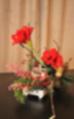 Kerststuk door Natys Floral Design & Services. Fotografie door Rebekka Gelders.