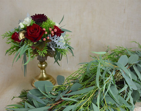 Party of Wedding Floral Decor