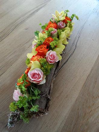 Winterbloemstuk door Natys Floral Design & Services