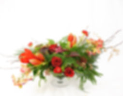 Christmas floral deco door Natys Floral Design & Services