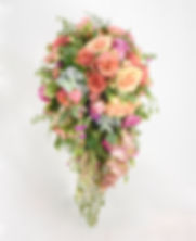 Summer Wedding Bouquet by Natys Floral Design & Services.
