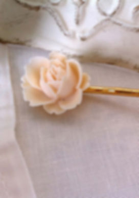 Rose Haarpin