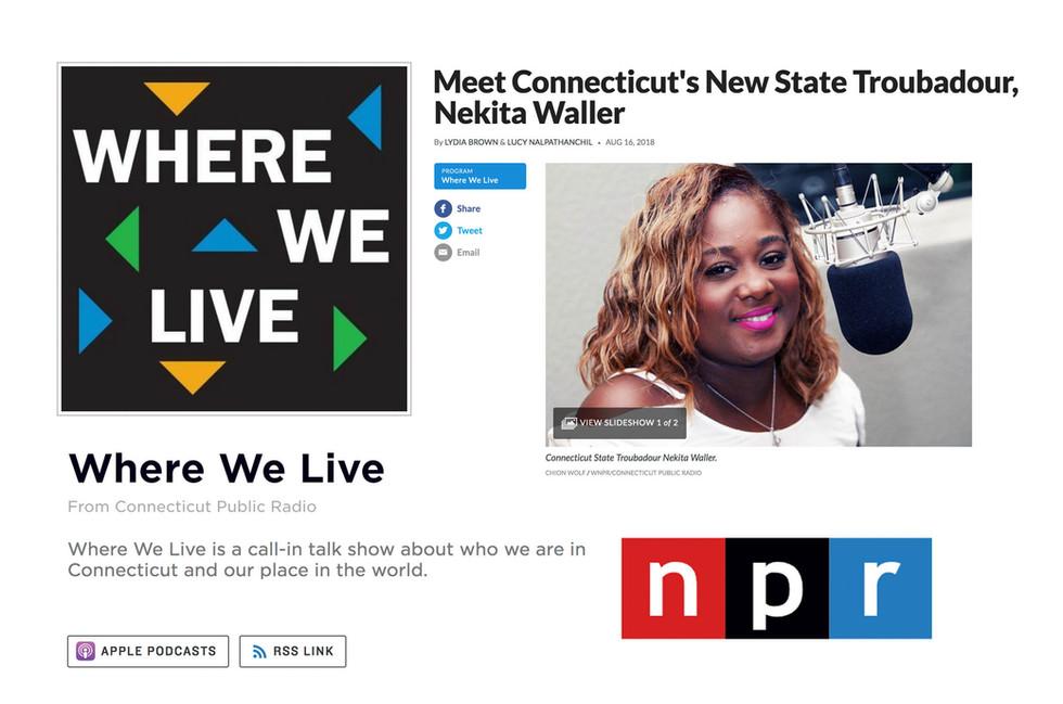 NPR Where We Live