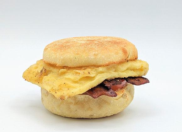 Breakfast Sandwich with Smokey Tofu Strips