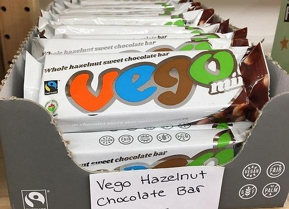Vego Chocolate Bar with Whole Hazelnuts