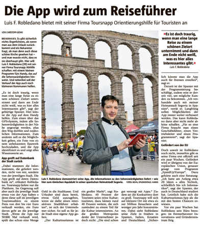 TourSnapp featured in local press