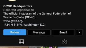 GFWC now has Instagram!