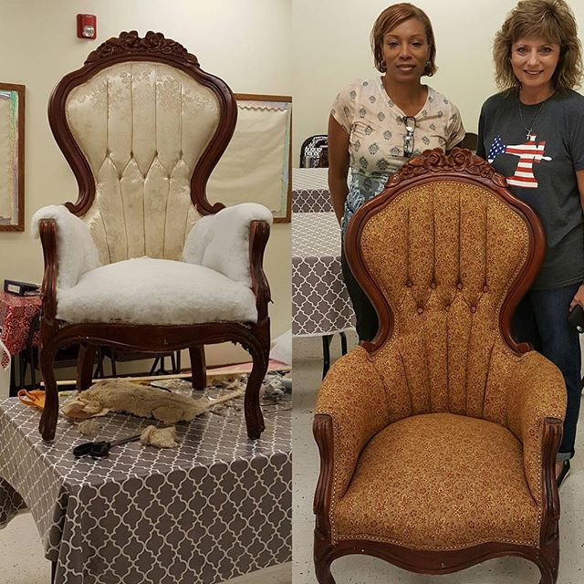 Upholstery Classes