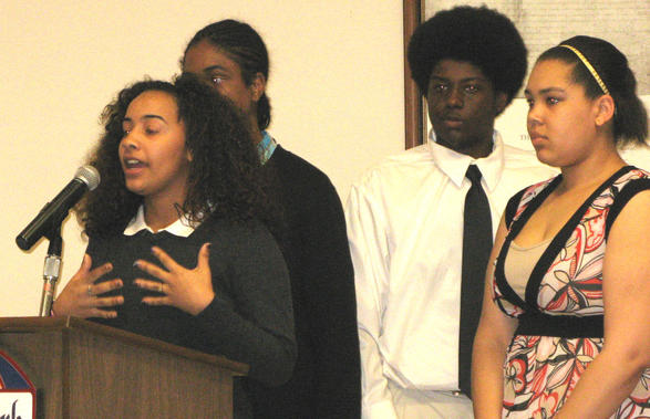 Teen Council Thanks Forest Park Leaders