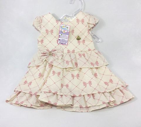 108 Vestido Luxo Moda Nenem
