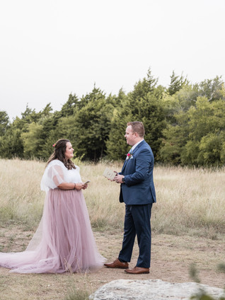 Vow Renewal at Arbor Hills Nature