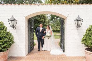 Dallas Arboretum Wedding Portrait
