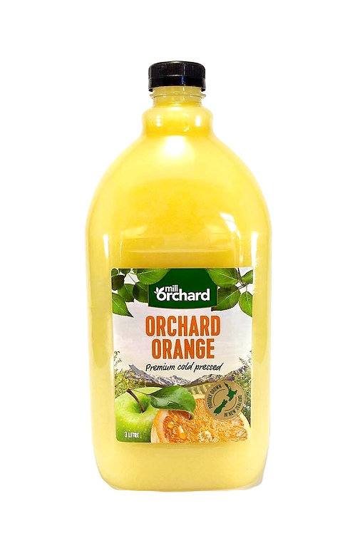 Mill Orchard Orchard Orange with apple base 3 litre Carton of 4