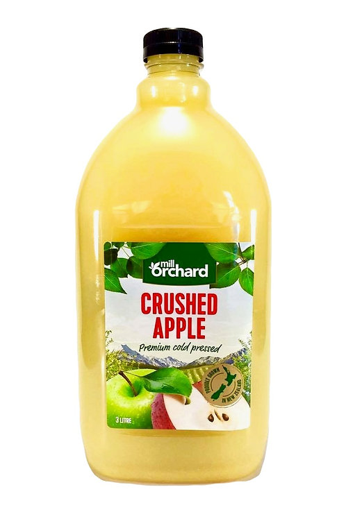 Mill Orchard Crushed Apple Juice 3 litre carton of 4